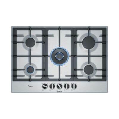 Bosch PCQ7A5B90 beépíthető gázfőzőlap nemesacél