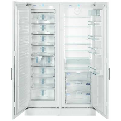 LIEBHERR SBS70I4  Side By Side Beépíthető Hűtőszekrény