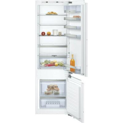 Neff KI6873FE0 beépíthető alulfagyasztós hűtő 178cm 209+61L