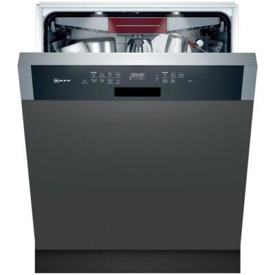 Neff S147ZCS35E beépíthető mosogatógép nemesacél