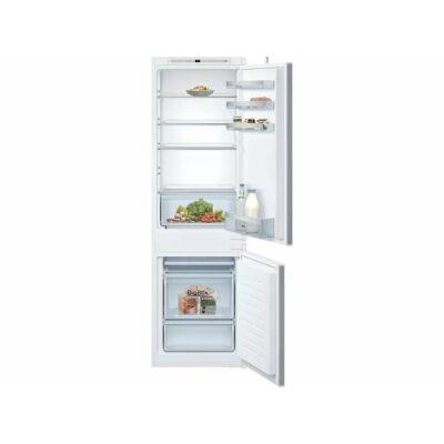 Neff KI7862SF0S beépíthető alulfagyasztós hűtőszekrény NoFrost 178cm 187+67L