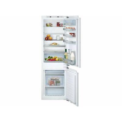 Neff KI7863FF0 beépíthető alulfagyasztós hűtőszekrény NoFrost