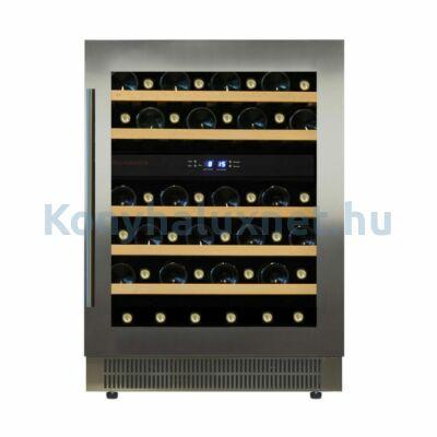 Dunavox DAUF-46.145DSS Flow beépíthető borhűtő inox 46 palackos