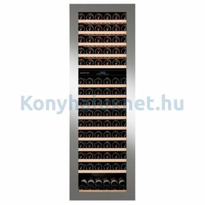 Dunavox DAVG-114.288DSS.TO Glance beépíthető borhűtő inox 114 palackos