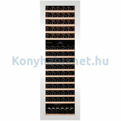 Dunavox DAVG-114.288DW.TO Glance beépíthető borhűtő fehér 114 palackos