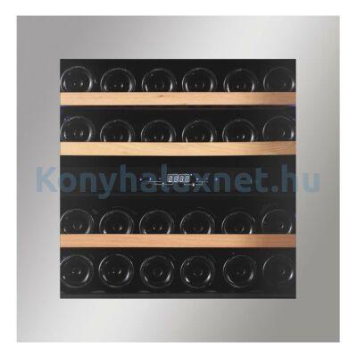 Dunavox DAVG-32.80DSS.TO Glance beépíthető borhűtő inox 32 palackos