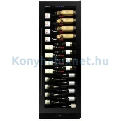 Dunavox DX-143.468B Grande beépíthető borhűtő fekete 143 palackos