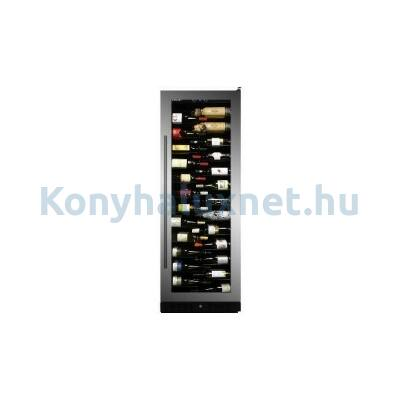 Dunavox DX-143.468SS Grande beépíthető borhűtő inox 143 palackos