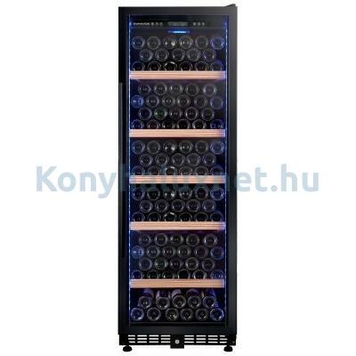 Dunavox DX-198.450K beépíthető borhűtő fekete 198 palackos