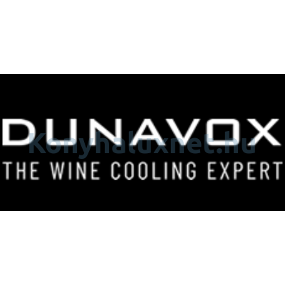 Dunavox DAVG-72.185DW.TO Glance beépíthető borhűtő fehér 72 palackos