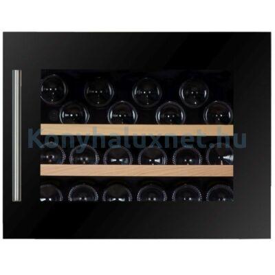 Dunavox DAVS-18.46B Soul beépíthető borhűtő fekete 18 palackos