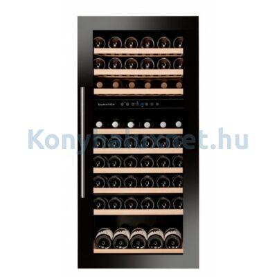 Dunavox DAVS-72.185DB Soul beépíthető borhűtő fekete 72 palackos