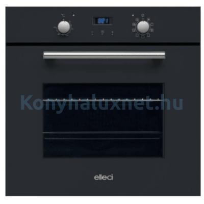 ELLECI QUADRO K86/G40 Black Beépíthető Elektromos Sütő
