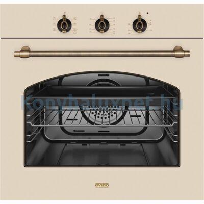 EVIDO RUSTIC-O 60C Beépíthető Sütő Bézs