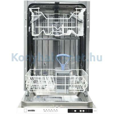 Evido Aqualife DW45I.2 teljesen beépíthető mosogatógép 45cm