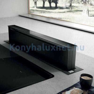 ELICA PANDORA Süllyesztett Páraelszívó 90 cm Fekete