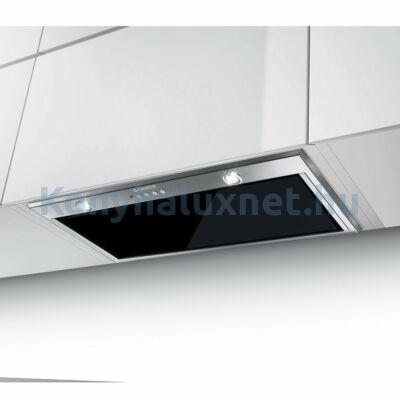 FABER Inca Lux Glass EV8 X/BK KL A52 Páraelszívó Inox-Fekete