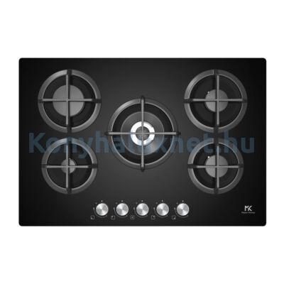 Master Kitchen Edge MKHG 7541-EDS FTC BK Beépíthető  Gázfőzőlap