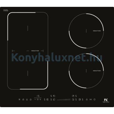 Master Kitchen Prime MKHI 604 1BR BK Beépíthető Indukciós Főzőlap
