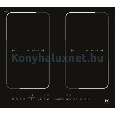 Master Kitchen Prime MKHI 604 2BR BK Beépíthető Indukciós Főzőlap