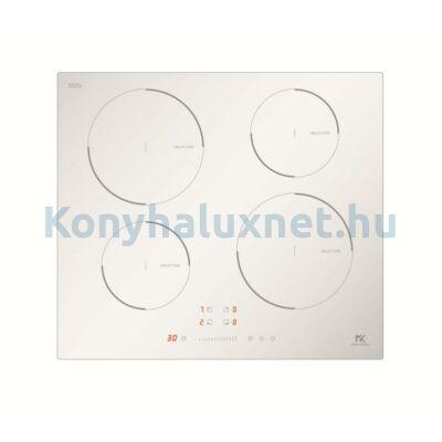 Master Kitchen Prime MKHI 604 WH Beépíthető Indukciós Főzőlap Fehér