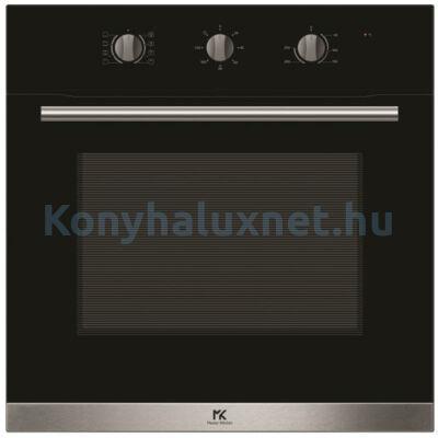 Master Kitchen Prime MKO 82/12-M BK Beépíthető sütő Fekete