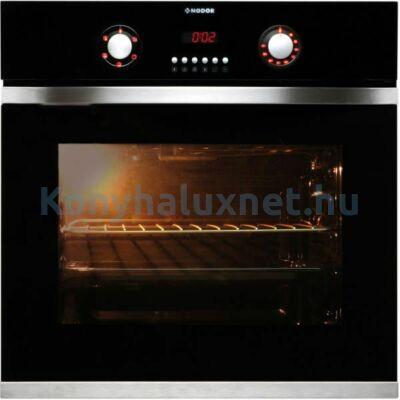 NODOR D700 DT AC BK Beépíthető Elektromos Sütő Fekete