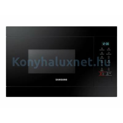Samsung MG22M8054AK/EO beépíthető mikrohullámú sütő fekete grilles 22L