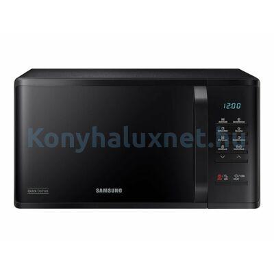 Samsung MS23K3513AK szabadonálló mikrohullámú sütő fekete 23L