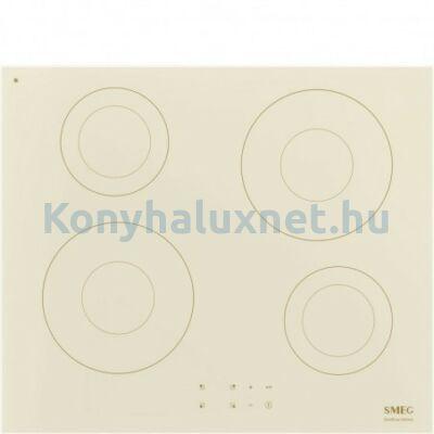 Smeg SI2641DP beépíthető indukciós főzőlap bézs 60cm Colonial design