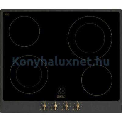 SMEG Főzőlap (Beépíthető, Elektromos) P864A-9 Antracit