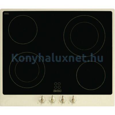 SMEG Főzőlap (Beépíthető, Elektromos) P864P-9 Bézs