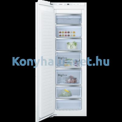Bosch GIN81ACF0 beépíthető fagyasztószekrény NoFrost 212L Serie6