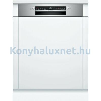 Bosch SMI2HVS20E beépíthető mosogatógép nemesacél Serie2