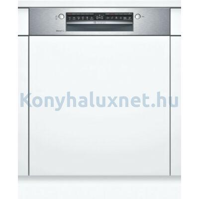 Bosch SMI4ECS14E beépíthető mosogatógép nemesacél Serie4