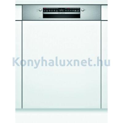 Bosch SMI4HVS31E beépíthető mosogatógép nemesacél Serie4