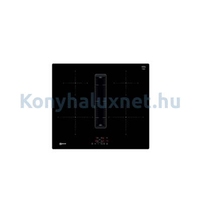 Neff T46CB4AX2 indukciós üvegkerámia főzőlap beépített páraelszívóval 60cm Line
