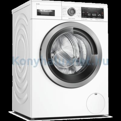 Bosch WAX32KH1BY elöltöltős mosógép 10kg 1600f/p Home Connect i-Dos AquaStop Serie8 fekete-inox ajtó