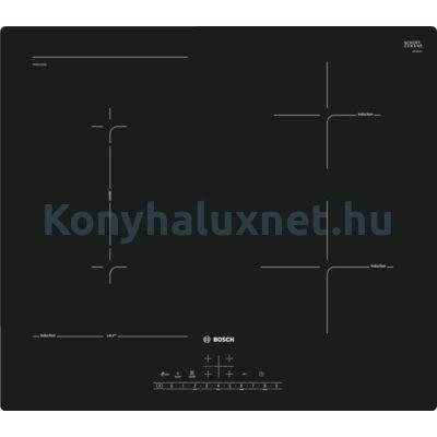 Bosch PVS611FC5E beépíthető Combi indukciós főzőlap 60cm keret nélküli Serie6
