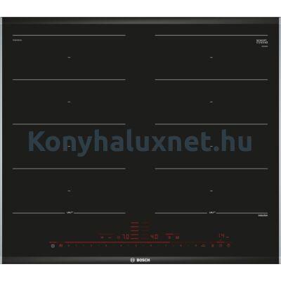 Bosch PXX675DC1E beépíthető indukciós lap 2 Flex zóna Komfort Profil Serie8