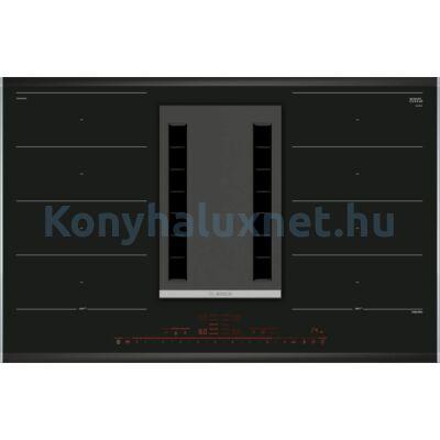 BOSCH PXX875D34E Beépíthető Indukciós Főzőlap Páraelszívóval