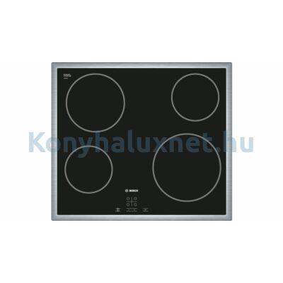 BOSCH PKE645D17E Serie | 4 Üvegkerámia főzőlap60 cm Fekete