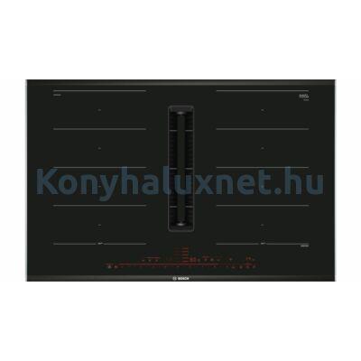 Bosch PXX875D67E beépíthető indukciós főzőlap páraelszívóval 80cm Home Connect Serie8