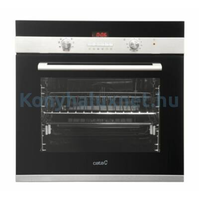 CATA Beépíthető Multifunkciós Sütő CDP 780 AS BK