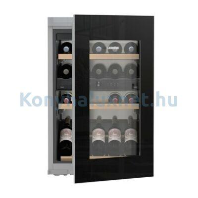 LIEBHERR EWTgb 1683 Vinidor beépíthető borhűtő fekete 88cm 33 palack
