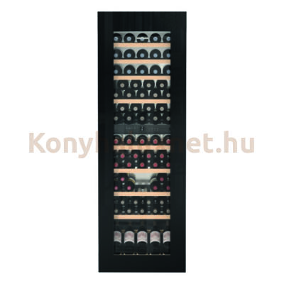 LIEBHERR EWTgb 3583 Vinidor beépíthető borhűtő fekete 178cm 83 palack