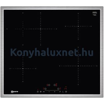 Neff T36BD60N1 indukciós főzőlap 60cm nemesacél kerettel