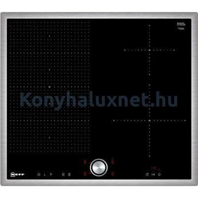 Neff T56BT50N0  flexindukciós főzőlap 60cm nemesacél kerettel