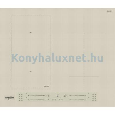 WHIRLPOOL WL S2760 BF/S indukciós főzőlap
