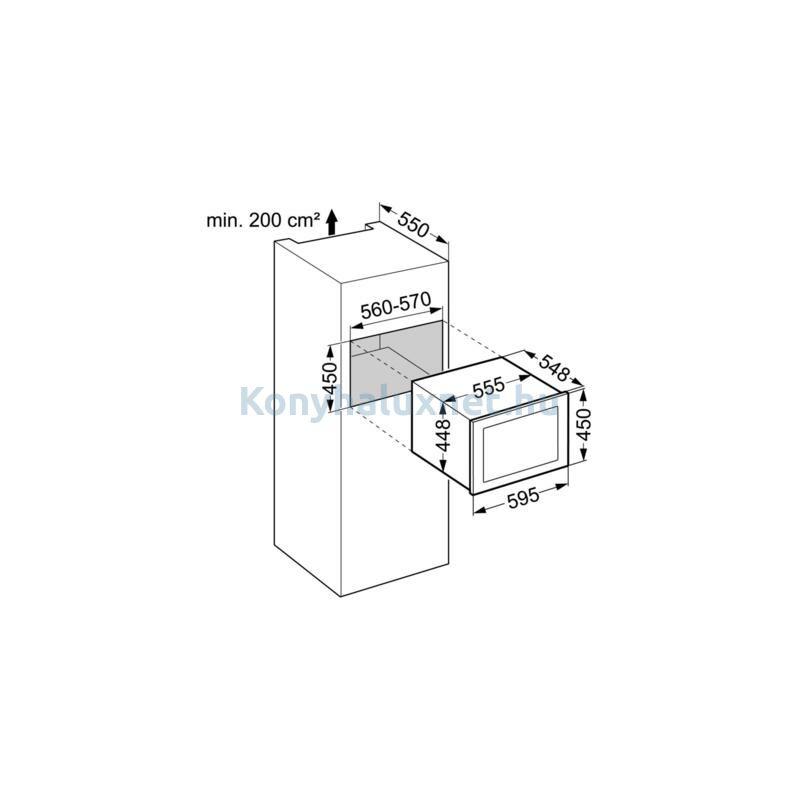 LIEBHERR WKEgw582-20 Beépíthető Borhűtő